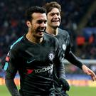 Pedro was Chelsea's match-winner at the King Power Stadium