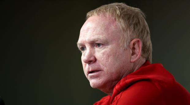 Alex McLeish has urged his players to believe in themselves