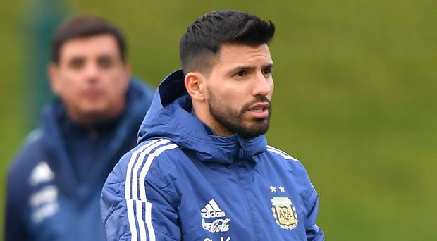 Sergio Aguero will leave the Argentina squad before their trip to Madrid