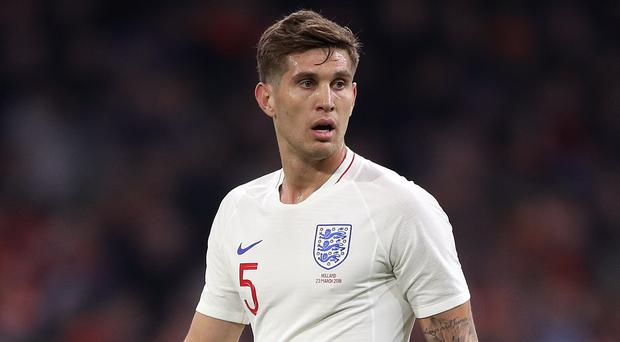 John Stones played the full game as England beat Holland