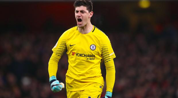 Thibaut Courtois says he will still be at Chelsea next season