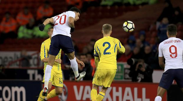 England U21 v Ukraine U21 – UEFA European U21 Championship Qualifying – Group 4 – Bramall Lane
