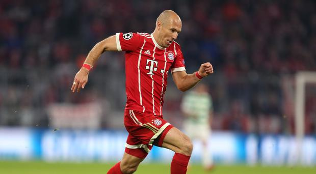 Arjen Robben wants Bayern Munich to claim the Bundesliga title on Saturday
