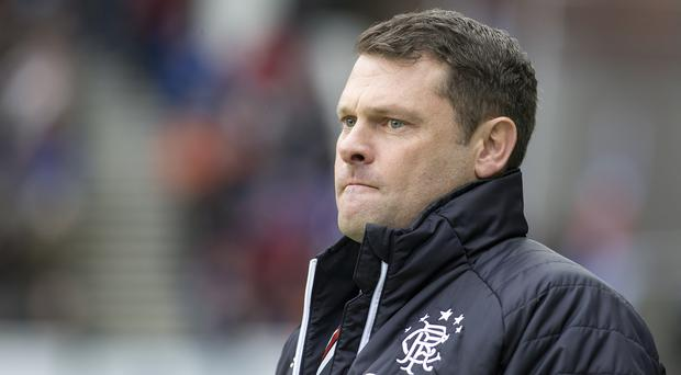 Graeme Murty's Rangers dropped further points at Motherwell