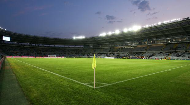 The Stadio Olimpico is the scene of the first leg