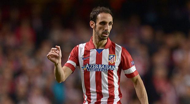 Juanfran Torres has had a hamstring injury
