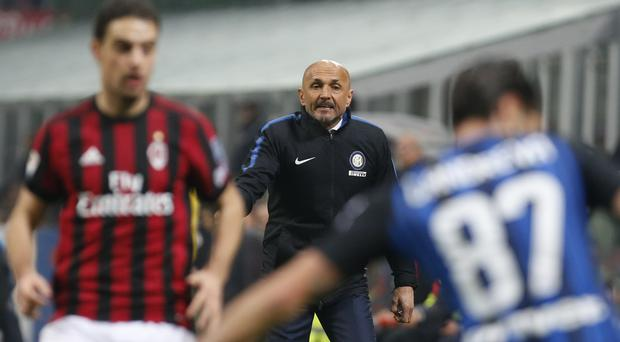 Inter Milan head coach Luciano Spalletti was satisfied with the point gained against against AC Milan at the San Siro