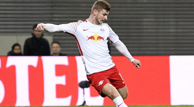Timo Werner's goal gave RB leipzig a slender 1-0 win over Marseille