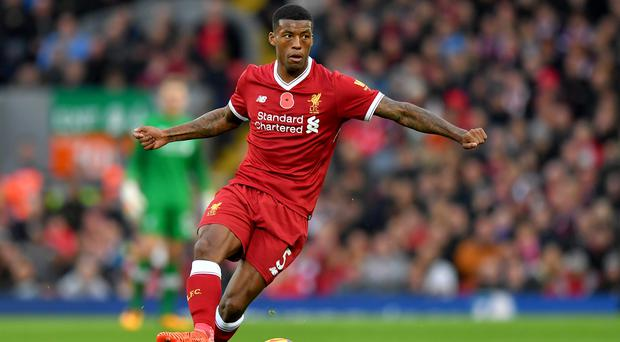 Liverpool's Georginio Wijnaldum is set for a pivotal midfield role against Manchester City