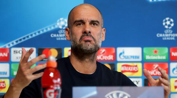 Pep Guardiola is determined to put up a strong fight in the Champions League