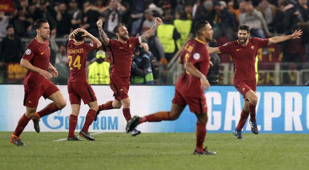 Roma beat Barcelona 3-0 on Tuesday to book their place in the Champions League semi-finals