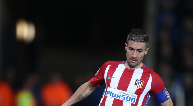 Atletico Madrid's Fernandez Gabi is wary of Sporting Lisbon