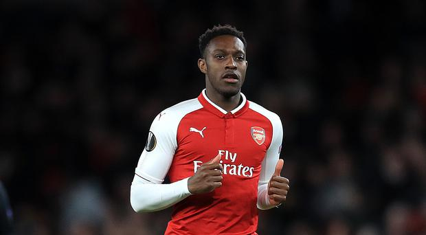 Danny Welbeck's goal settled Arsenal's nerves in Moscow (Adam Davy/PA)