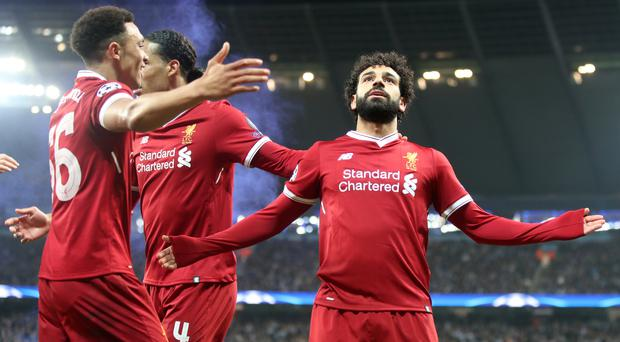 Liverpool forward Mohamed Salah will face his former club Roma in the semi-finals of the Champions League (Nick Potts/PA Images)