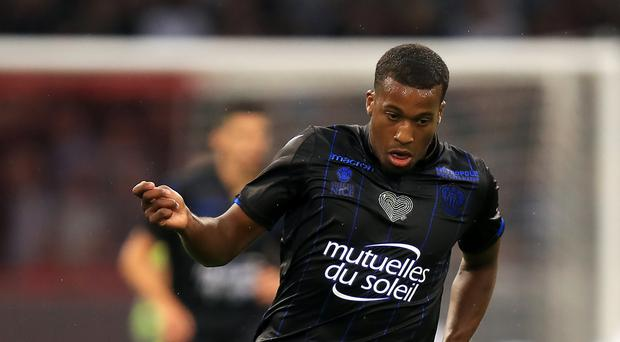 In-form forward Alassane Plea was on target for Nice in the 1-1 Ligue 1 draw at Angers