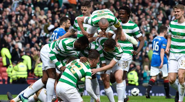 Celtic eased into another final