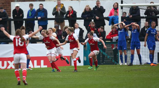Louise Quinn scored a late winner for Arsenal in the Women's FA Cup semi-final