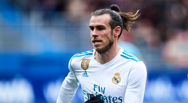 No joy: Gareth Bale is fighting for a place in the first-team