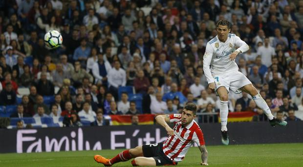 Cristiano Ronaldo levelled late on for Real Madrid