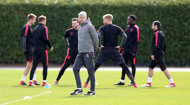 Arsenal Training Session – London Colney