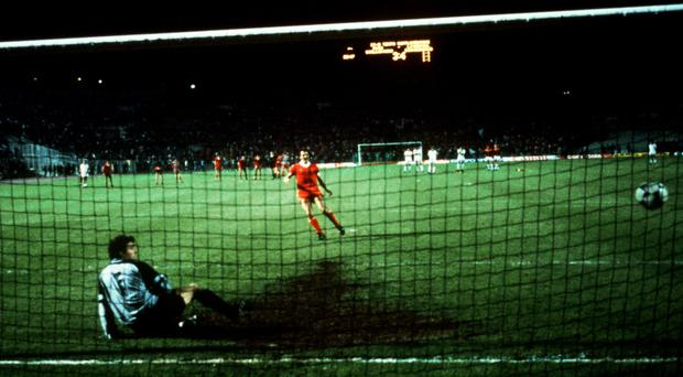 Liverpool's Alan Kennedy scored the penalty which beat Roma in the 1984 European Cup final.