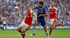 Arsenal and Chelsea clash in the FA Cup