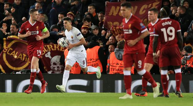 Diego Perotti's late penalty has given Roma hope