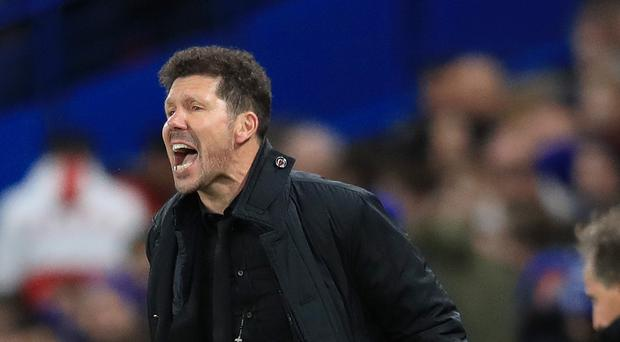 Diego Simeone has not ruled Diego Costa out of the clash with Arsenal