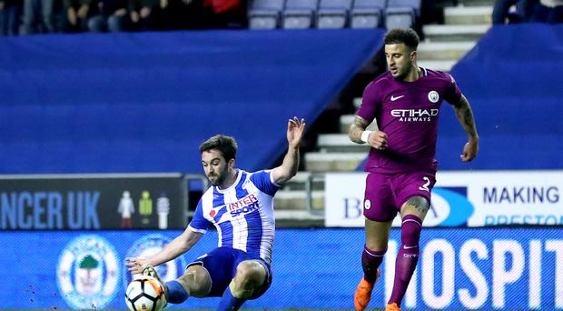 Wigan Athletic v Manchester City – Emirates FA Cup – Fifth Round – DW Stadium