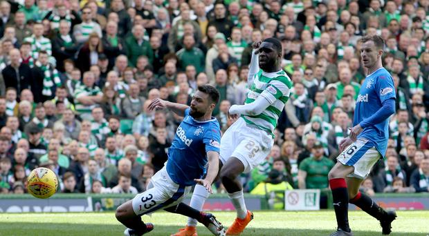 Odsonne Edouard scores Celtic's second at Parkhead