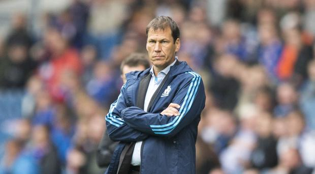 Rudi Garcia is looking to guide Marseille to the Europa League final
