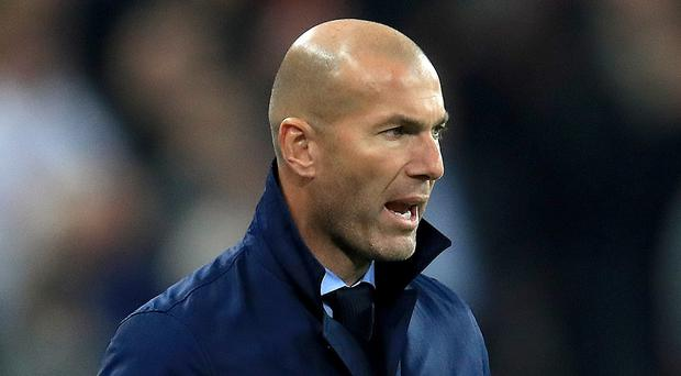 Zinedine Zidane's players will not form a guard of honour for champions Barcelona