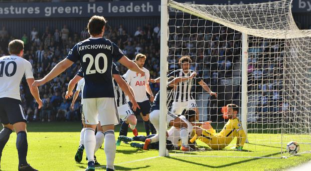 Jake Livermore netted a late winner as West Brom beat Tottenham