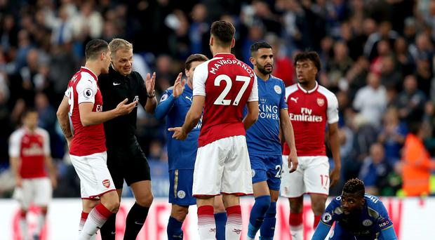 Leicester City v Arsenal – Premier League – King Power Stadium