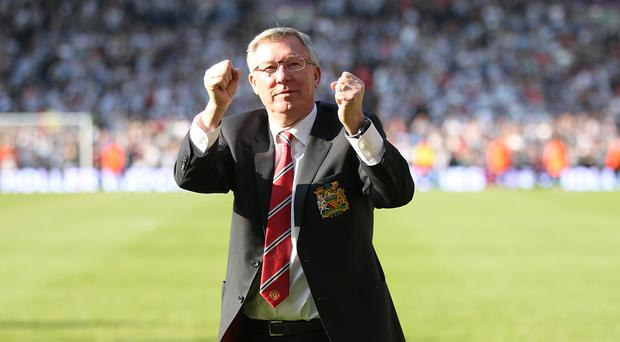 Sir Alex Ferguson is recovering in hospital