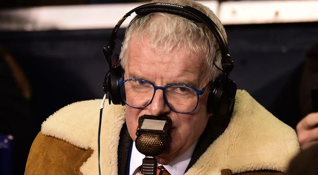 John Motson will make his final commentary appearance this weekend