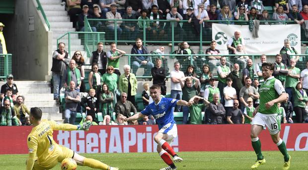 Hibernian v Rangers – Ladbrokes Scottish Premiership – Easter Road