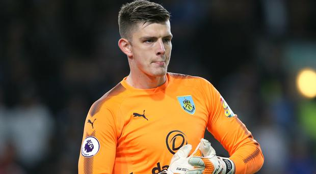 Nick Pope is hopeful of gaining a place in the England squad