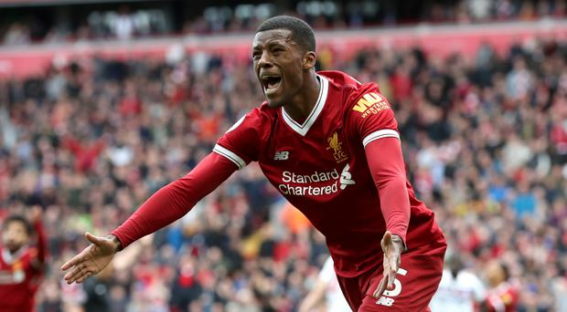 Liverpool midfielder Georginio Wijnaldum wants to become a Champions League