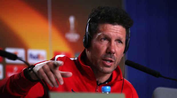Diego Simeone does not believe Atletico Madrid's big-game experience will be significant