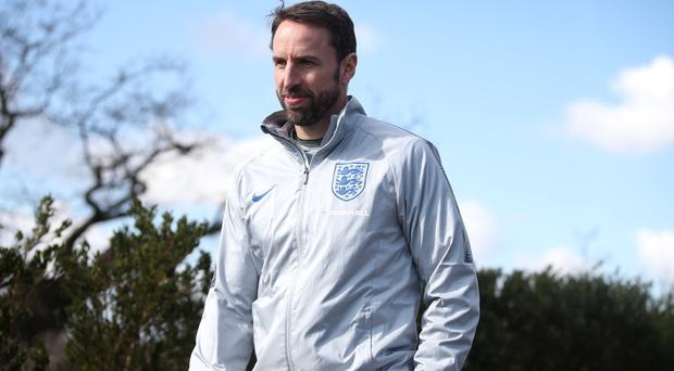 England v Italy – England Training Session and Press Conference – Enfield Training Centre