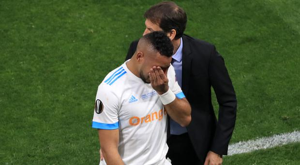 Dimitri Payet will miss the World Cup after limping out of the Europa League final (Adam Davy/Empics)