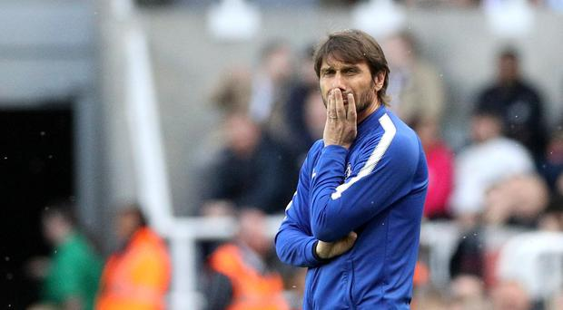 Antonio Conte kept quiet on his future ahead of the FA Cup final between Chelsea and Manchester United