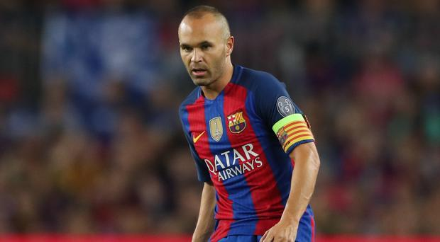 Andres Iniesta is close to the end of his Barcelona career
