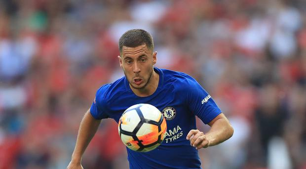 Eden Hazard is targeting another Premier League title with Chelsea