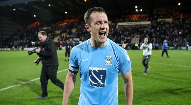 Notts County v Coventry City – Sky Bet League Two – Playoff – Semi Final – Second Leg – Meadow Lane