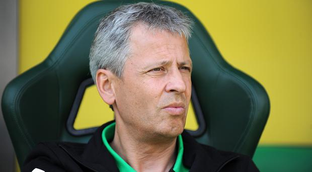 Lucien Favre is heading to Germany