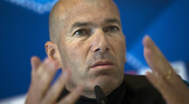 Zinedine Zidane is focusing only on his players ahead of the Champions League final