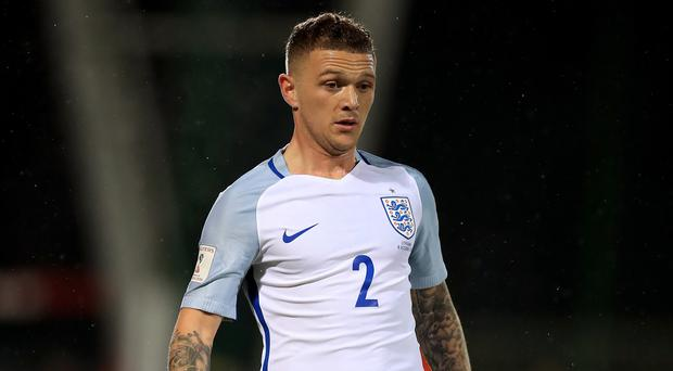 Kieran Trippier has watched previous World Cups as a passionate England fan (Mike Egerton/PA)