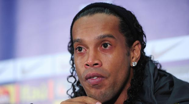 Ronaldinho is planning an unorthodox wedding, according to reports